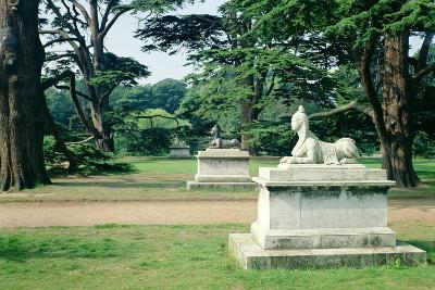 Chiswick Gardens, Middlesex, View of the Sphinx--Photographic Print