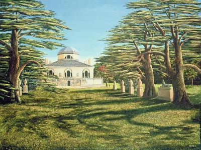 Chiswick House, 1985-Liz Wright-Giclee Print