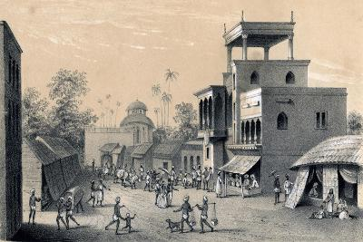 Chittapore Road, Calcutta, 1847-B Clayton-Giclee Print