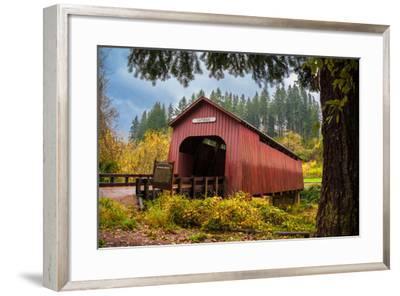 Chitwood Bridge-Romona Murdock-Framed Photographic Print