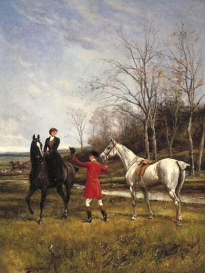 Chivalry-Heywood Hardy-Giclee Print