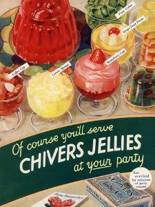 Chivers Jelly, UK, 1930