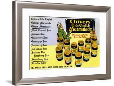 Chivers' Old English Marmalade-Curt Teich & Company-Framed Art Print