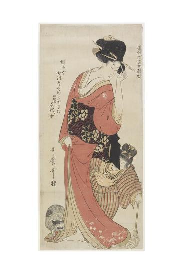 Chiyo from Kaga Province, C. 1801-1804-Kitagawa Utamaro-Giclee Print