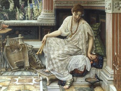 Chloe, Dulces Docta Modos et Citharae Ciens, 1893-Edward John Poynter-Giclee Print