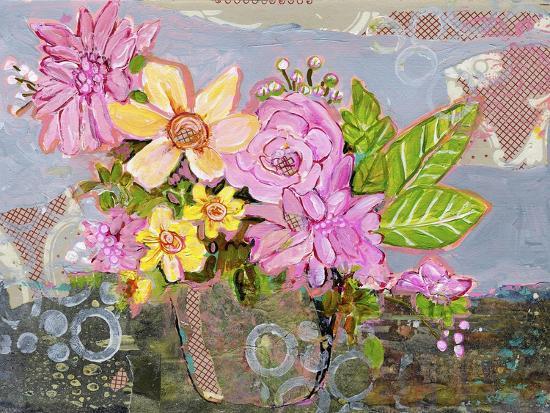 Chloe Rose Flowers-Blenda Tyvoll-Giclee Print