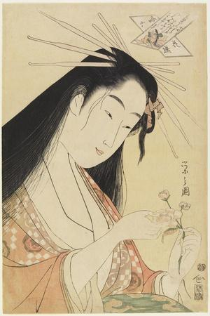 Courtesan as Komachi, C. 1796