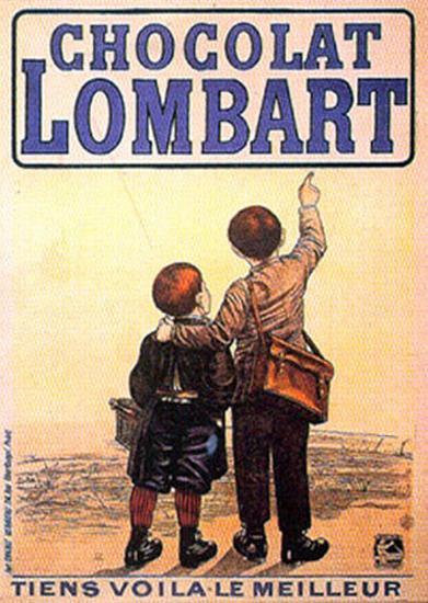 Choclat Lombart--Art Print