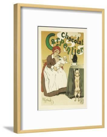 Chocolat Carpentier-Henri Gerbault-Framed Art Print