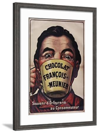 Chocolat Francois Meunier-Vintage Apple Collection-Framed Giclee Print