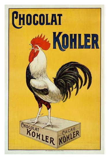 Chocolat Kohler--Art Print