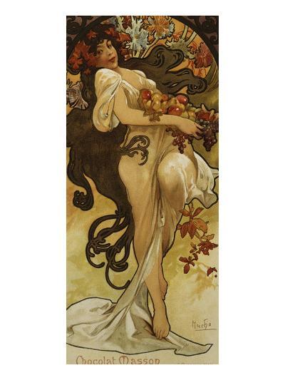 Chocolat Masson - Spring-Alphonse Mucha-Giclee Print