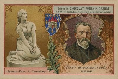 Chocolat Poulain Orange Trade Card--Giclee Print
