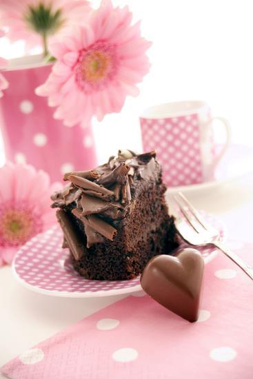 Chocolate Cake-Erika Craddock-Photographic Print