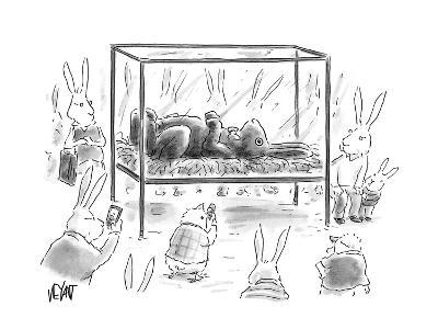 Chocolate Easter Bunny - Cartoon-Christopher Weyant-Premium Giclee Print