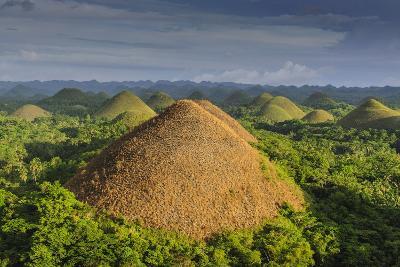 Chocolate Hills, Bohol, Philippines, Southeast Asia, Asia-Michael Runkel-Photographic Print