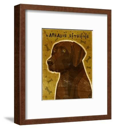 Golden Labrador Retriever Poster 22x27 DOG ART PRINT Chocolate Lab John W NEW