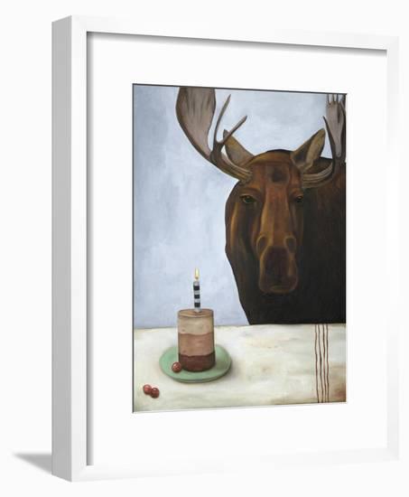 Chocolate Moose-Leah Saulnier-Framed Giclee Print