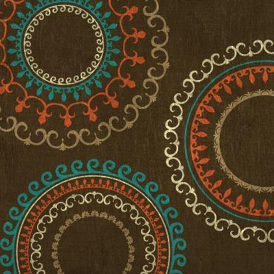Chocolate Suzani I--Art Print