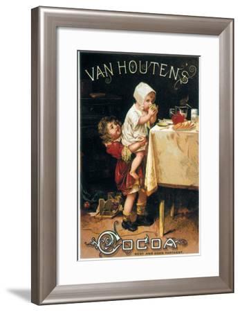 Chocolate Trade Card--Framed Giclee Print