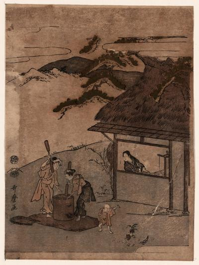 Chofu No Tamagawa-Kitagawa Utamaro-Giclee Print