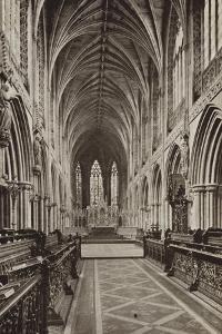 Choir, Lichfield Cathedral, Staffordshire