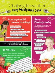 Choking Prevention Poster