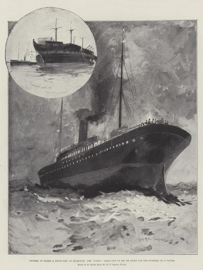 Cholera on Board a Troop-Ship at Plymouth-Henry Charles Seppings Wright-Giclee Print
