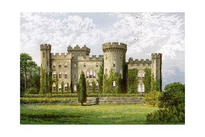 Cholmondeley Castle, Cheshire, Home of the Marquis of Cholmondeley, C1880-Benjamin Fawcett-Giclee Print