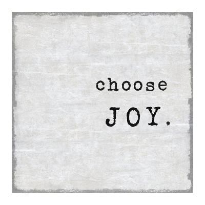 Choose Joy-Jamie MacDowell-Giclee Print