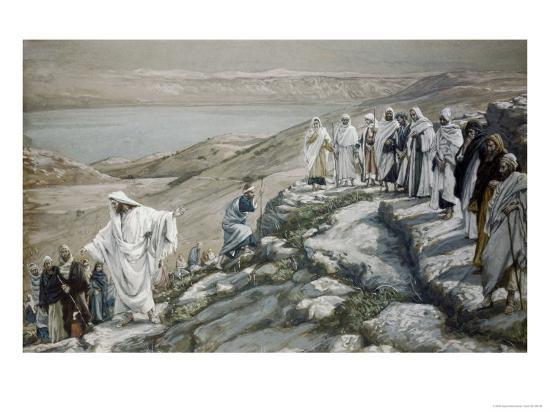 Choosing of Twelve Apostles-James Tissot-Giclee Print
