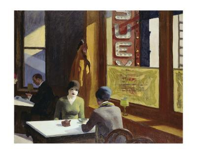 Chop Suey, 1929-Edward Hopper-Art Print