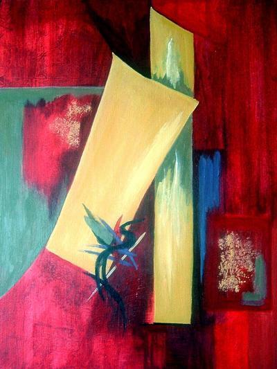 Chopsticks I-Ruth Palmer Originals-Art Print