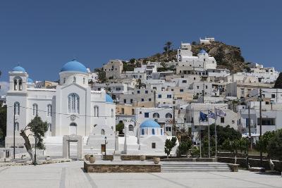 Chora, Ios, Cyclades, Greek Islands, Greece-Rolf Richardson-Photographic Print