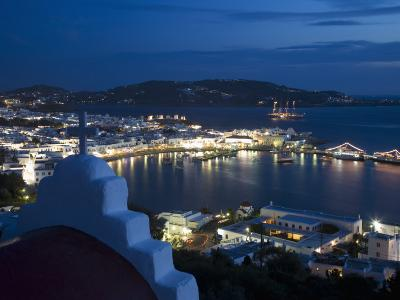 Chora, Mykonos, Cyclades, Greek Islands, Greece, Europe-Angelo Cavalli-Photographic Print