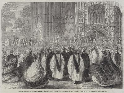 Choral Festival at Peterborough--Giclee Print