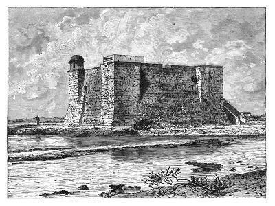 Chorrera Tower, Havana, Cuba, C1890--Giclee Print