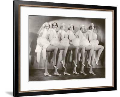 Chorus Girls-FPG-Framed Photographic Print