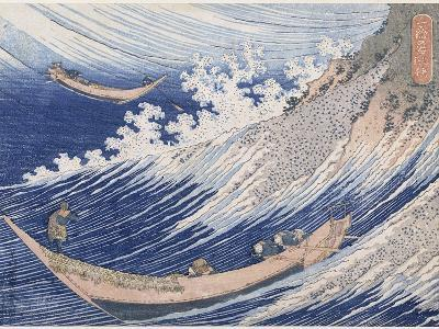 Chôshi dans la province de Chiba-Katsushika Hokusai-Giclee Print