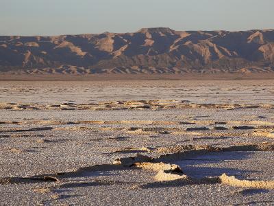 Chott El Jerid, Flat Dry Salt Lake Between Tozeur and Kebili, Tunisia, North Africa, Africa-Dallas & John Heaton-Photographic Print
