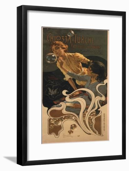 Chozza E Turchi, 1899-Adolfo Hohenstein-Framed Giclee Print