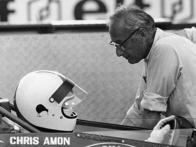 Chris Amon (On the Lef) and David Yorke, 1970S--Photographic Print