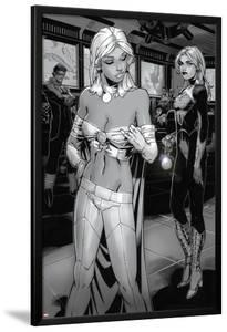 X-Men: Curse of The Mutants - Storm & Gambit No.1: Emma Frost and Dazzler by Chris Bachalo