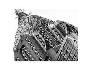 Chrysler Building Detail by Chris Bliss