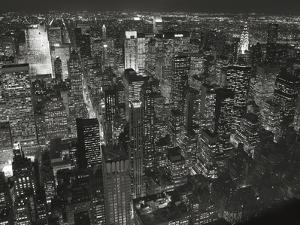 Night Skyline by Chris Bliss