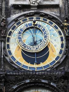 Prague Clock 1 by Chris Bliss