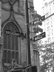 Wall Street Signs by Chris Bliss