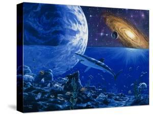 Abstract Artwork of the Evolution of Life by Chris Butler