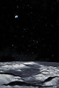 Apollo 17 Landing Site on Moon by Chris Butler