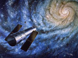 Hubble Telescope by Chris Butler